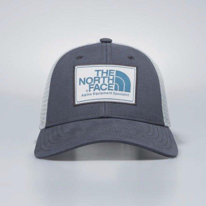 ... The North Face snapback Mudder Trucker Hat asphalt grey   high rise grey    blue coral ... 0839da286d23