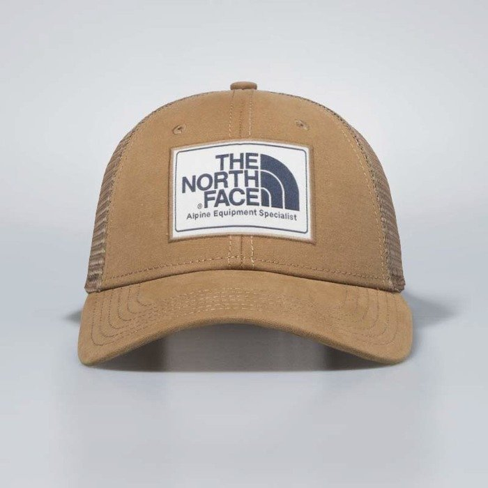 The North Face snapback Mudder Trucker Hat cargo khaki   vintage white    urban navy T0CGW21UP  a5fa018785cb