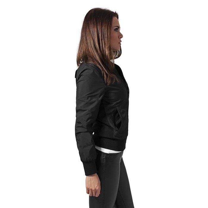 ... Urban Classics Ladies Light Bomber Jacket WMNS black ... e61616a1e1