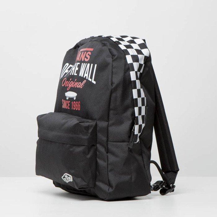 f16437e725 ... Vans Sporty Realm Backpack SKA black VA2XA3027 ...