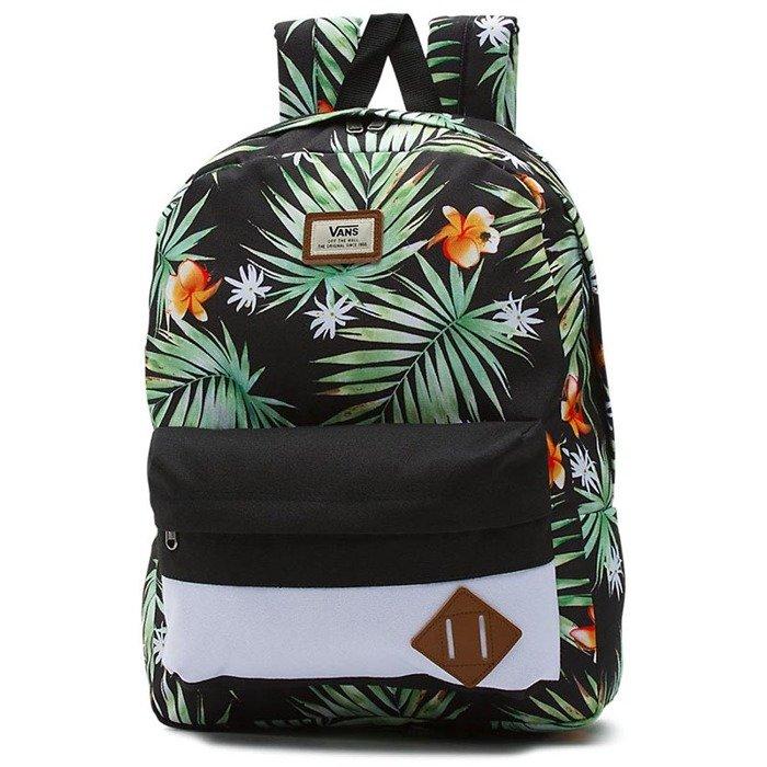 Vans Backpack Old Skool Ii Backpack Black Decay Palm