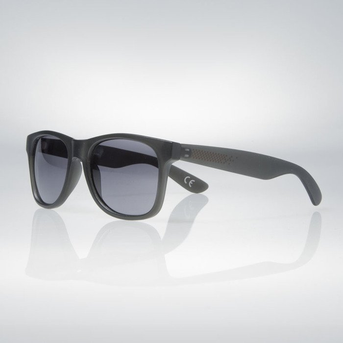 5ca630cb5af ... Vans sunglasses Spicoli 4 Shade Black Frosted (VN000LC01S6) ...