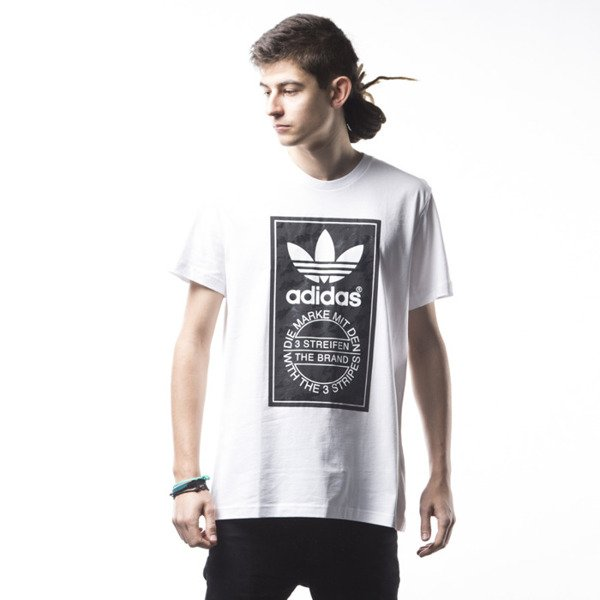 Adidas Originals Camo Tongue T-shirt white (AJ7149)