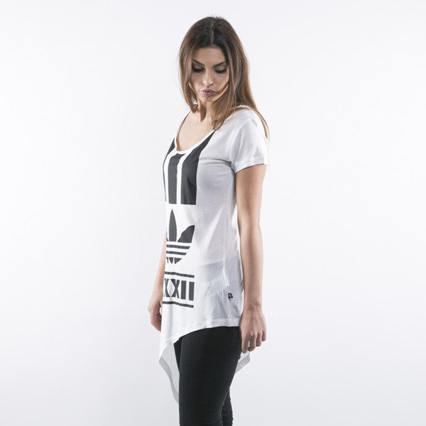 Adidas tunic Berlin Edgy Stripes white (AB2661)