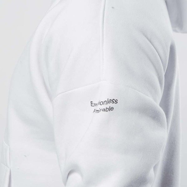 Admirable hoodie Emotion Mini white