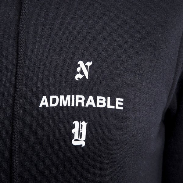 Admirable sweatshirt New York hoody black WMNS