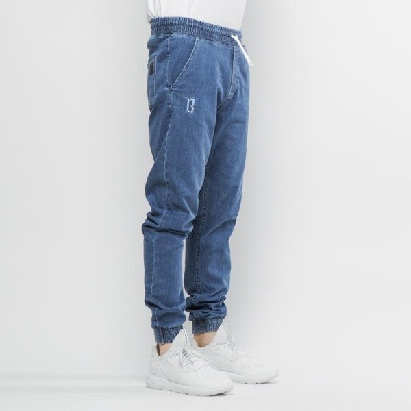 BOR pants Stretch Jogger blue