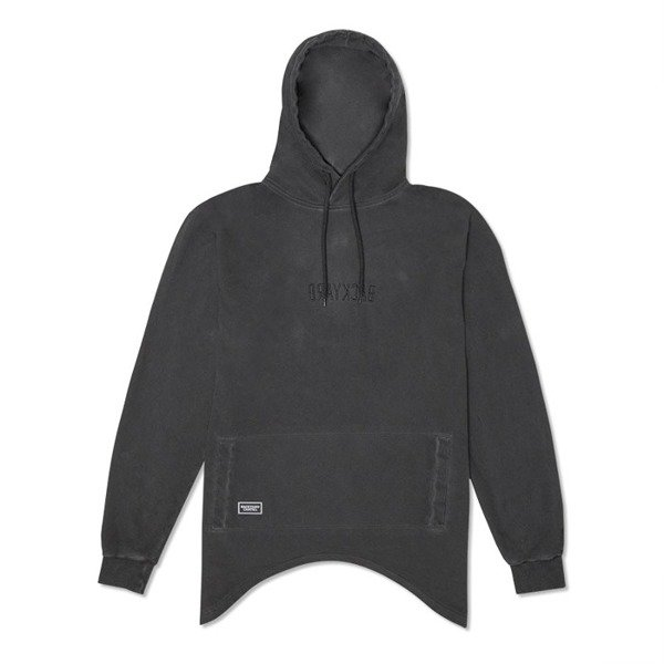 Backyard Cartel Hoody Wings washed black