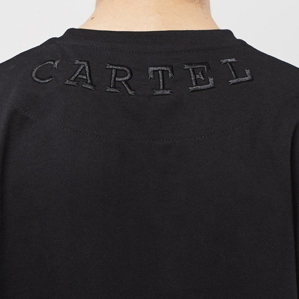 Backyard Cartel Longsleeve Shadow black SS2017