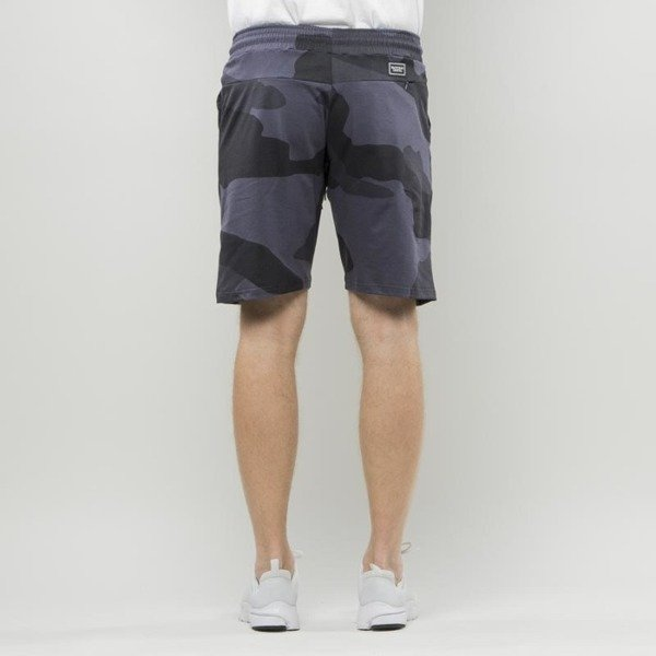 Backyard Cartel Shorts Big Woodland black SS2017