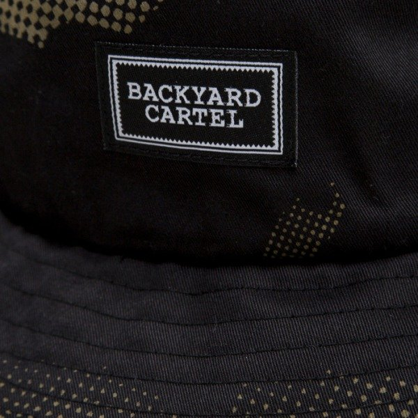 Backyard Cartel bucket Leaves black