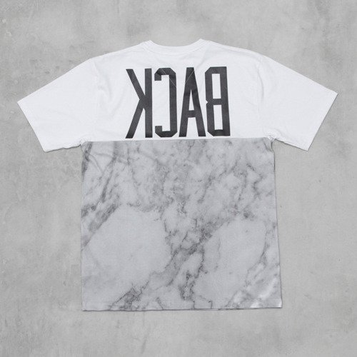 Backyard Cartel t-shirt Marble Half white