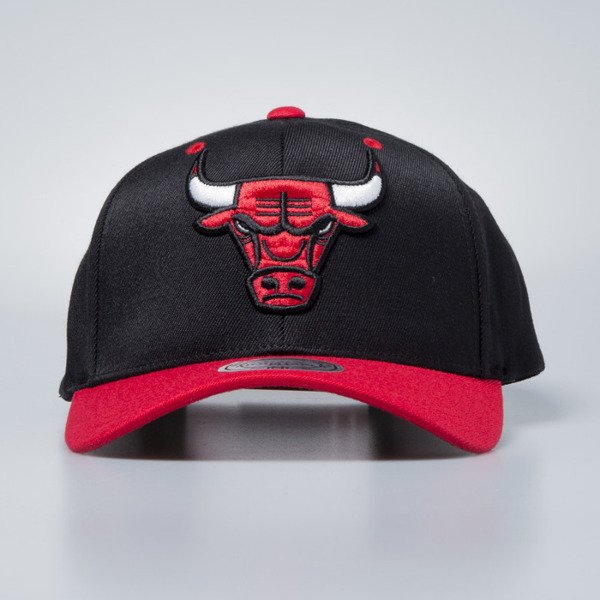 Cap Mitchell & Ness snapback Chicago Bulls black / red Team Logo 2-Tone