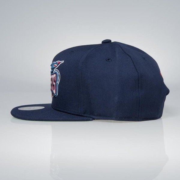 official photos b1371 4742a ... Cap Mitchell   Ness snapback Houston Rockets navy Wool Solid   Solid ...