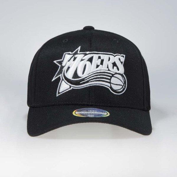 5150cc46315d3 Cap Mitchell   Ness snapback Philadelphia 76ers black Black   White Flexfit  110