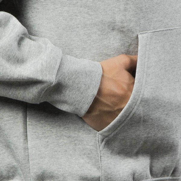 Carhartt WIP Hooded Division Sweat grey heather / white