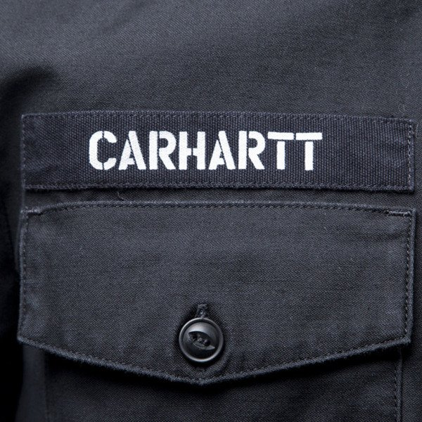 Carhartt WIP L / S Arrow Shirt black / white
