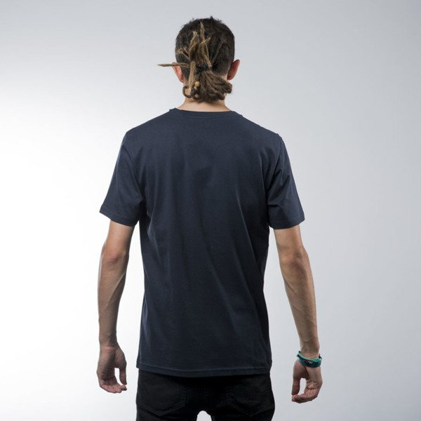 Carhartt WIP t-shirt Bold Type navy / chanti