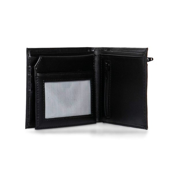 Carhartt WIP wallet Leather Rock It Wallet black