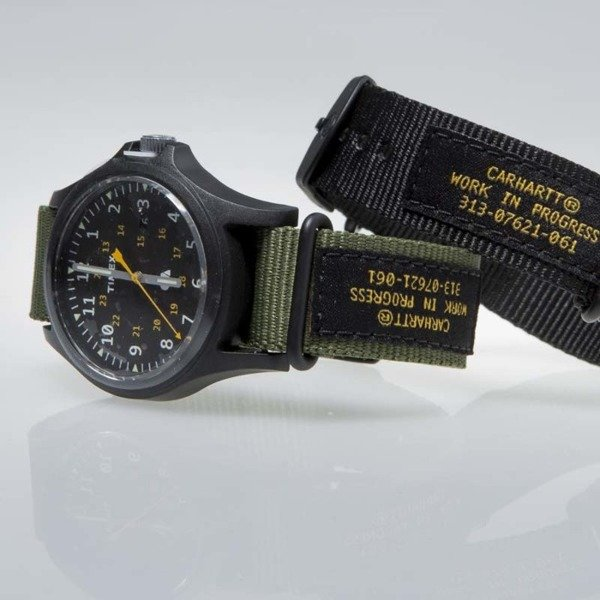 Carhartt WIP x Timex Watch green