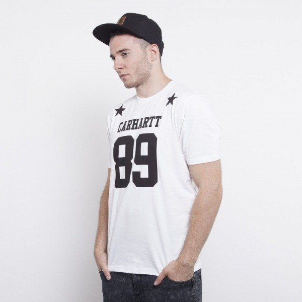 Carhartt t-shirt Fan white / black