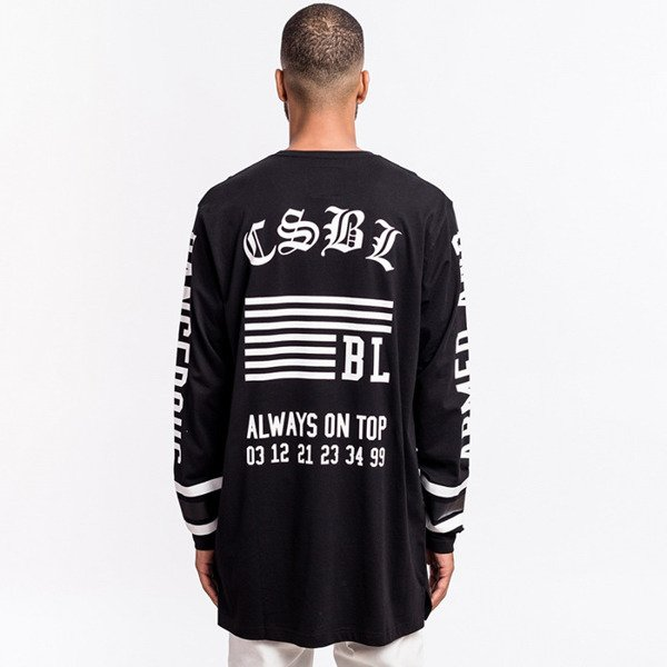 Cayler & Sons BLACK LABEL Armed & Dangerous Longsleeve black/ white BL-CAY-AW16-AP-19-01