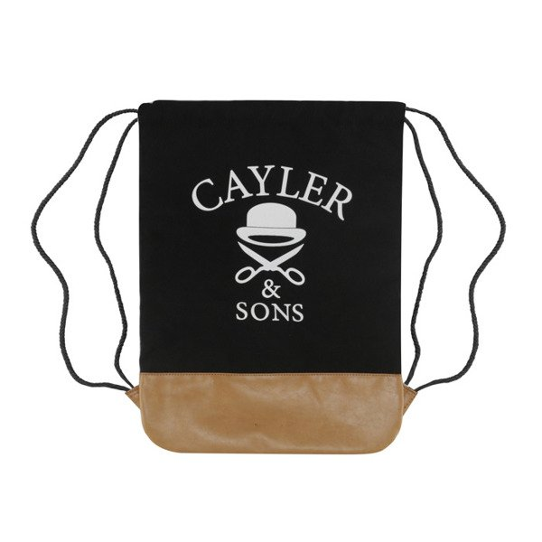Cayler & Sons Bedstuy Gymbag black / mc / brown GL-CAY-AW16-GB-03