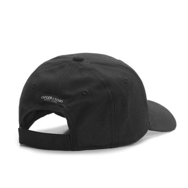 Cayler & Sons Black Label Black Arch Curved Cap black / black BL-CAY-AW16-CRVD-01-01