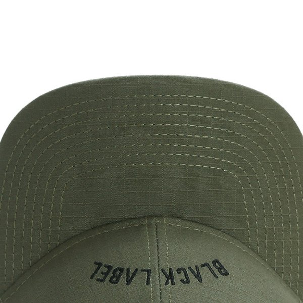 Cayler & Sons Black Label Black Arch Curved Cap olive / black BL-CAY-AW16-CRVD-01-02