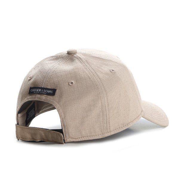 Cayler & Sons Black Label Black Arch Curved Cap sand / woodland BL-CAY-AW16-CRVD-01-03