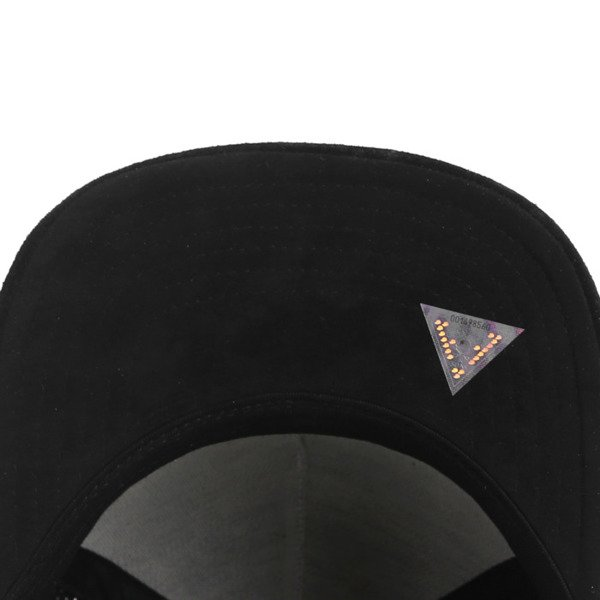 Cayler & Sons Black Label snapback Apache Cap blue suede / gold BL-CAY-AW16-14-02