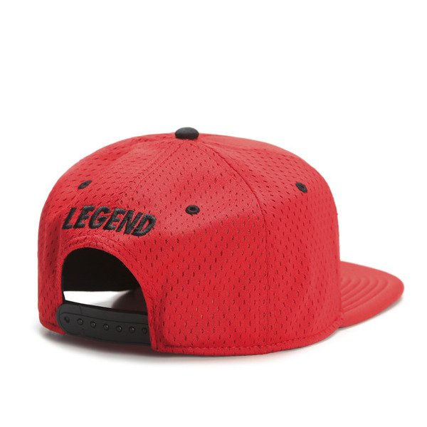 Cayler & Sons Black Label snapback Legend Cap red / red (BL-CAY-SS16-10-02)