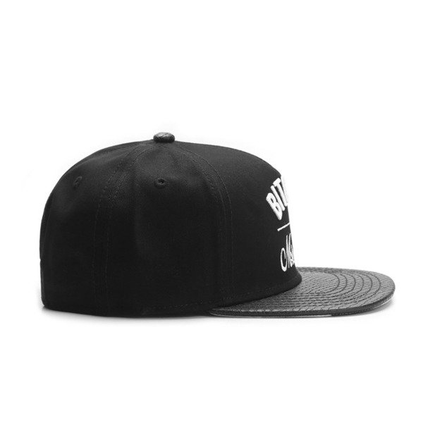 Cayler & Sons Green Label snapback B&M Cap black / white GL-CAY-SU16-04