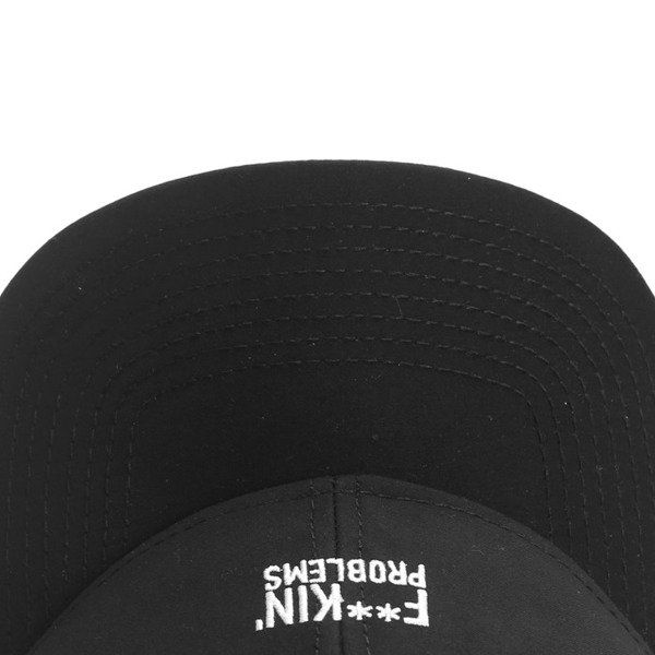 Cayler & Sons Problems Curved Cap black / white BL-CAY-Q4-CRVD-02