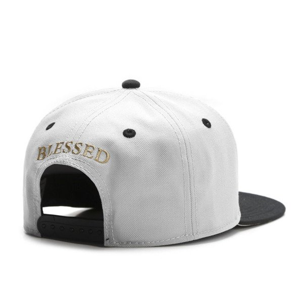 Cayler & Sons White Label snapback Blessed Cap grey / black / gold WL-CAY-SU16-01