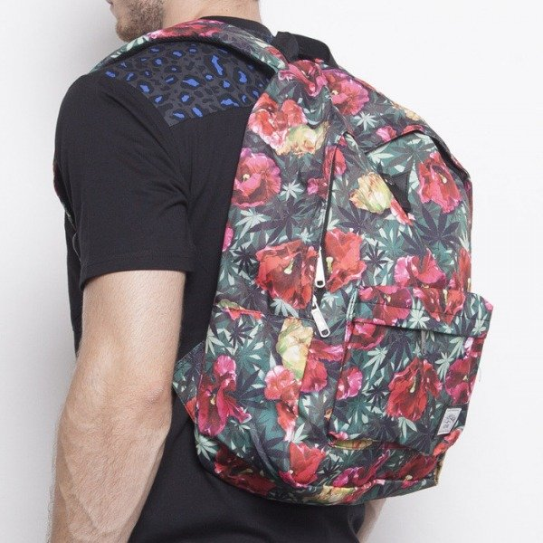 Cayler & Sons backpack A-Dam Downtown tulip camo / red stripes CAY-AW14-BP-02-01-OS