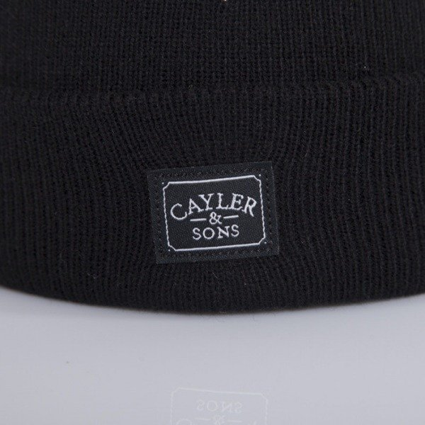 Cayler & Sons beanie Fuck Yeah black / white CAY-AW14-BN-18-01