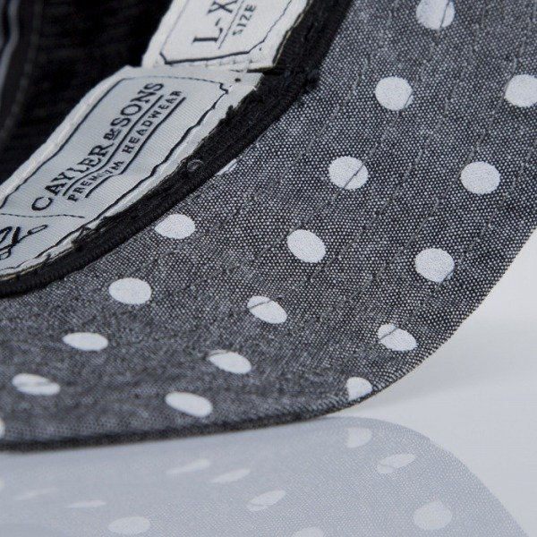 Cayler & Sons bucket Dotted grey polka (CAY-SS15-55-01)