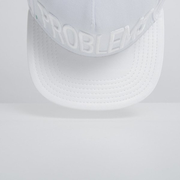 Cayler & Sons cap snapback 99 Problems triple white WL-CAY-HD15-15