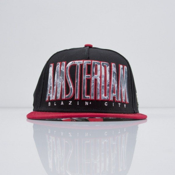 Cayler & Sons cap snapback Blazin City black / red / smoke (CAY-SS15-49-01)