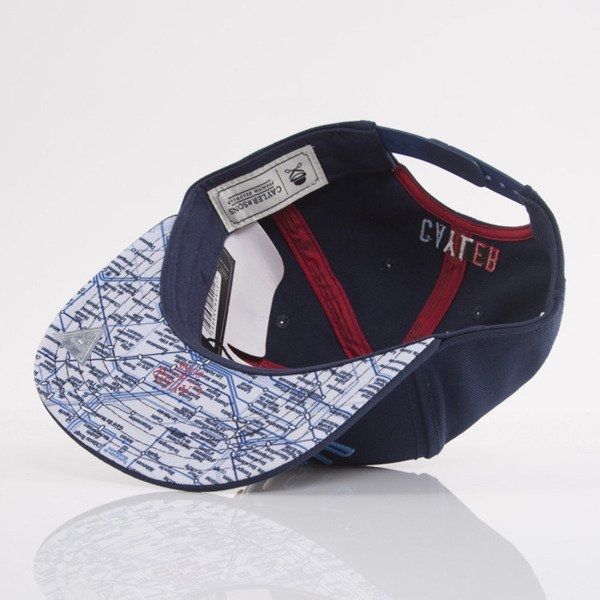 Cayler & Sons cap snapback District of Paris navy / red / white (WL-CAY-AW15-03-OS)
