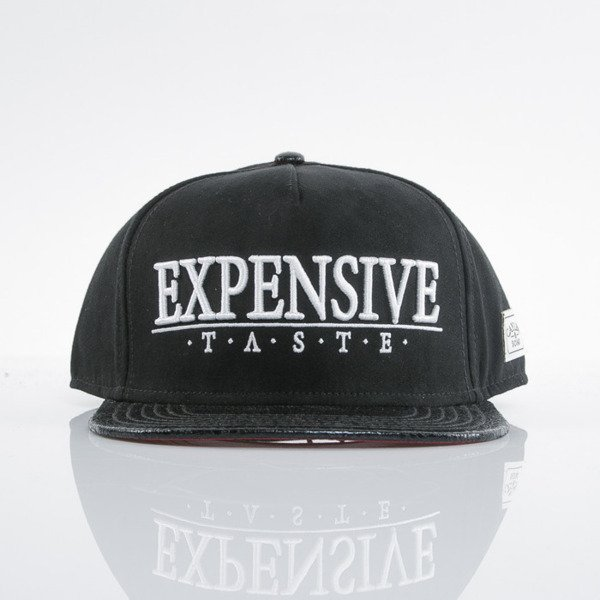 Cayler & Sons cap snapback Expensive Taste black / red / white (WL-CAY-AW15-33-OS)