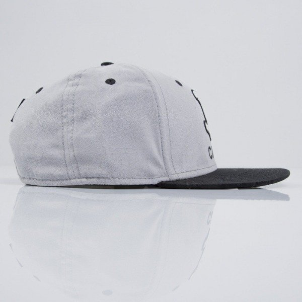 Cayler & Sons cap snapback No.1 grey suede / black / white (CAY-SS15-16-01)