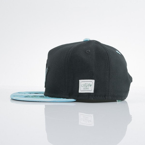 Cayler & Sons cap snapback Rayz And Bake black / x-ray (GL-CAY-AW15-11-OS)