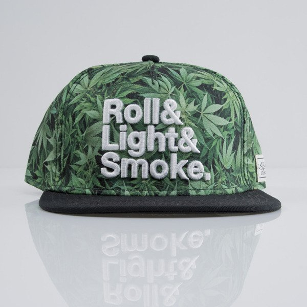 Cayler & Sons cap snapback Roll Light Smoke green mc / black / white (CAY-SU15-16-OS)