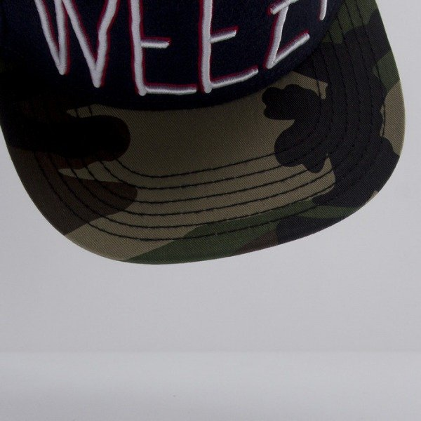 Cayler & Sons cap snapback Weezy Throwback navy wool / camo / mc CAY-HD14-14