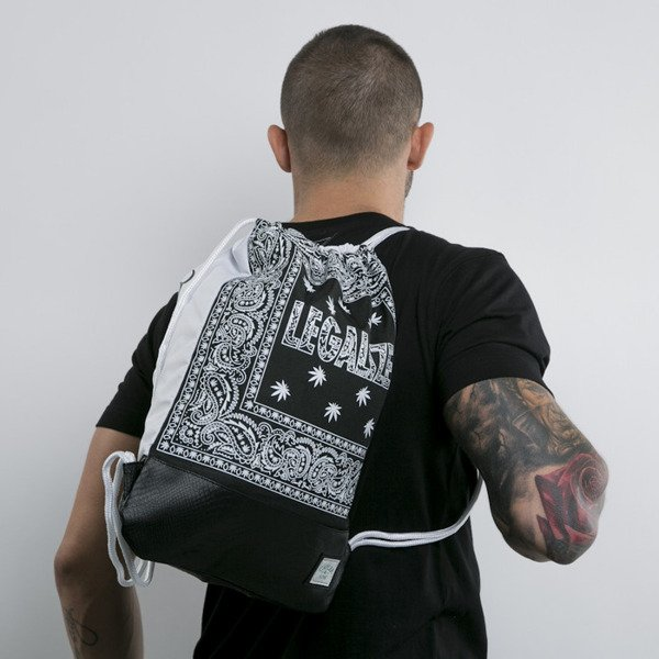 Cayler & Sons gym bag Legalize black / white (GL-CAY-AW15-GB-05-OS)