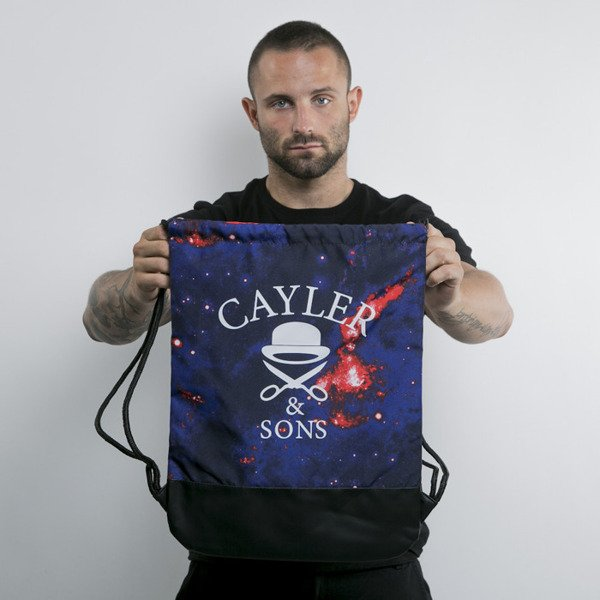 Cayler & Sons gym bag Shy High navy / white / red (GL-CAY-AW15-GB-06-OS)