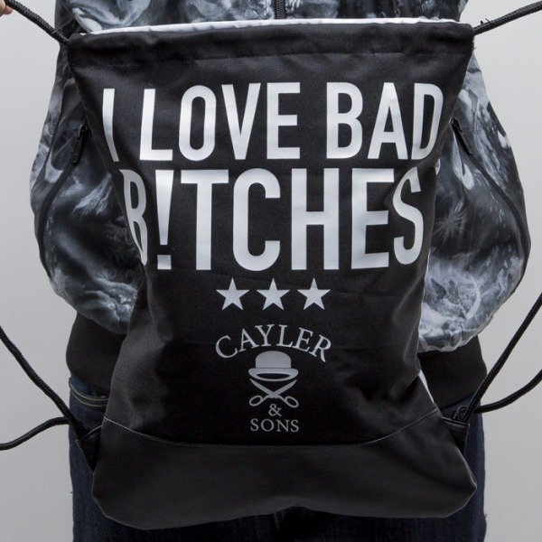 Cayler & Sons gym bag Smart black / gray (CAY-SS15-GB-12))