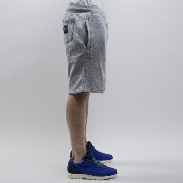 Cayler & Sons shorts  No.1 Sweatshorts grey heather / white / black (CAY-SS15-AP-58-01)
